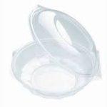 Egybefedeles Delikát kerek műanyag salátás 375 ml [ 300 db/# ]