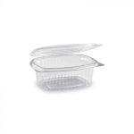Egybefedeles Gastro műanyag ovális 375 ml [ 50 db/cs ] [ 15 cs/# ]