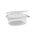 Egybefedeles Gastro műanyag ovális 750 ml [ 50 db/cs ] [ 10 cs/# ]