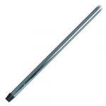 Felmosó nyél MOP erős fém és króm műanyag 130 cm