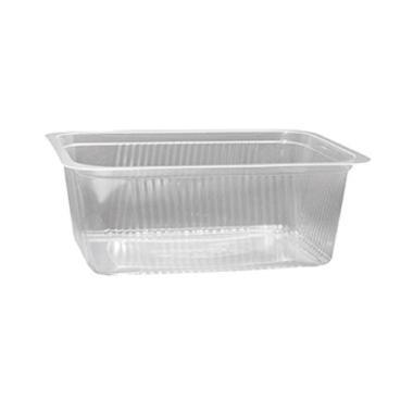 Fóliázható szögletes műanyag doboz VT 1250 ml PP [ 150 db/cs ] [4 cs/# ]