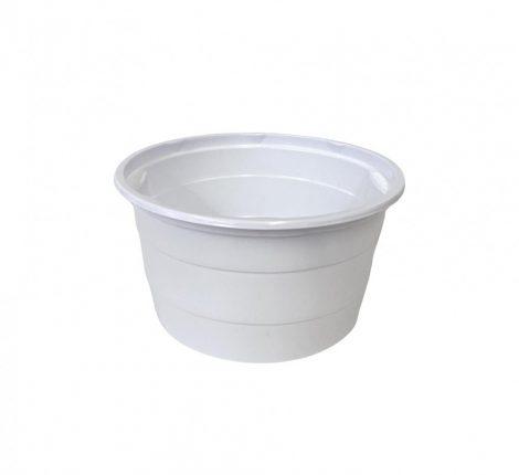 Goulash bowl PP plastic white 750 ml (50 pcs/pck) (11 pck/ctn)