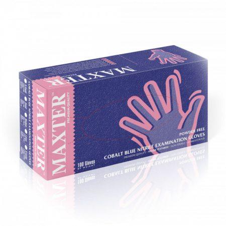 """Rubber gloves nitryl, powder free, size """"XL"""" (100 pcs/pck) (10 pck/ctn)"""