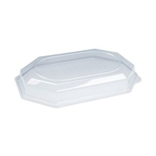 Cold buffet tray lid water-clear for 5 persons (10 pcs/pck) (5 pck/ctn)