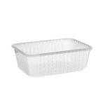 Import műanyag szögletes alj 1000 ml VT PP [ 50 db/cs ] [ 12 cs/# ]