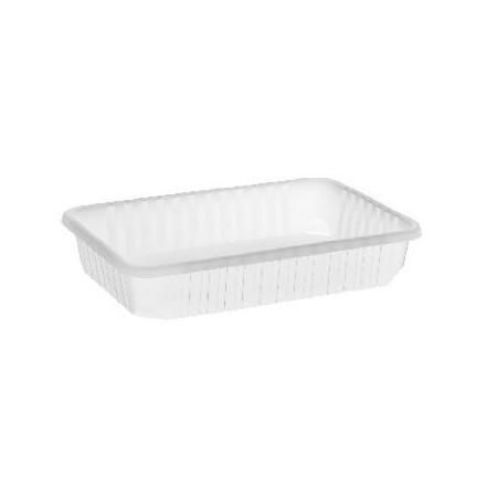 Import plastic square box 500 ml water-clear PP (50 pcs/pck) (12 pcs/ctn)