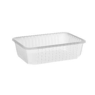 Import műanyag szögletes alj 750 ml VT PP [ 50 db/cs ] [ 12 cs/# ]