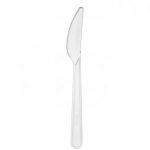 Kés víztiszta műanyag superior [ 50 db/cs ] [ 40 cs/# ]