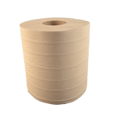 Hand towel cylindrical paper natural 19, 2 layers, 110 meter (6 pcs/pck)