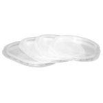 Oval swedish plastic lid (100 pcs/pck) (9 pck/ctn)