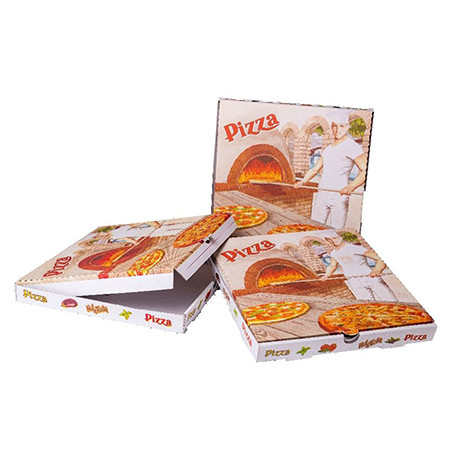 "Pizza box graphics 26 cm ""Bandana""  (100 pcs/pck)"