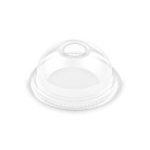 Cup shaker plastic lid - hemisphere holey (50 pcs/pck) (20 pck/ctn)
