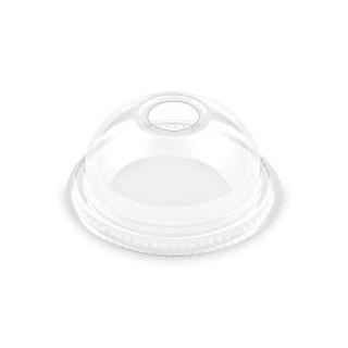 Pohár shaker műanyag tető - félgömb lyukas [ 50 db/cs ] [ 20 cs/# ]