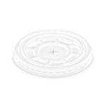Cup shaker plastic lid - flat holey (50 pcs/pck) (16 pck/ctn)
