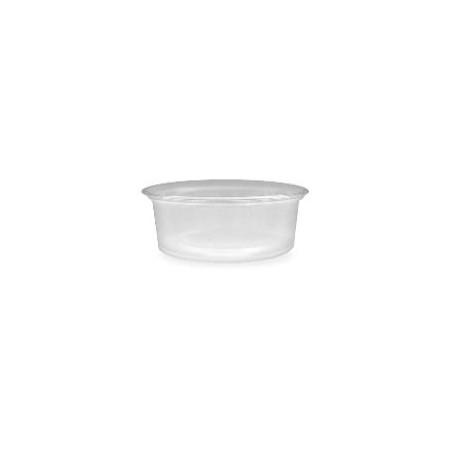 Szószos tálka műanyag   80 ml [ 50 db/cs ] [ 20 cs/# ]