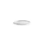 Saucer lid plastic for 50-80-100 ml (50 pcs/pck) (20 pck/ctn)