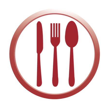 Plate flat PP 220 mm with handle (100 pcs/pck) (10 pck/ctn)