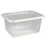 Varia  mini szögletes alj VT PVC 425 ml [ 50 db/cs ] [ 16 cs/# ]