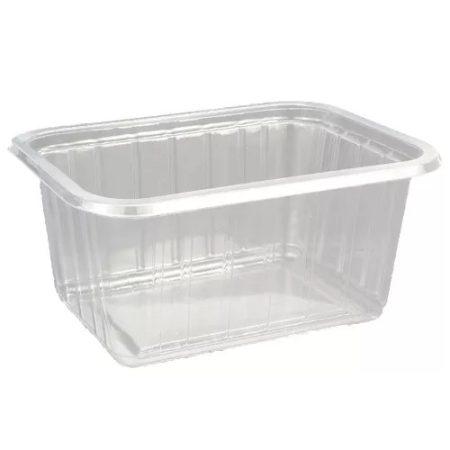 Varia box mini square water-clear PVC 425 ml (50 pcs/pck) (16 pck/ctn)