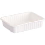 Varia szögletes alj fehér PP 500 ml [ 50 db/cs ] [ 8 cs/# ]