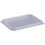 Varia square lid water-clear PP 500 ml - 1200 ml (50 pcs/pck) (8 pck/ctn)