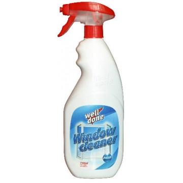 Well Done fresh window cleaner spray 750 ml (12 pcs/ctn)
