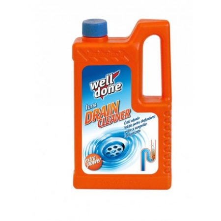 Well Done drain cleaner 1 liter (14 pcs/ctn)