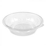 Salad bowl water-clear plastic 500 ml (petal) (50 pcs/pck) (8 pck/ctn)