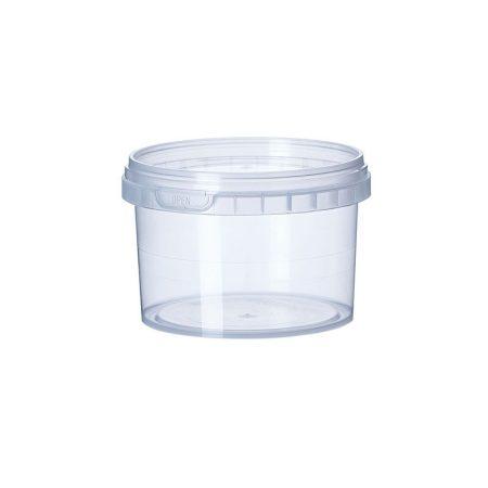 Garanciazáras kerek tégely 365 ml PP [ 200 cs/# ]