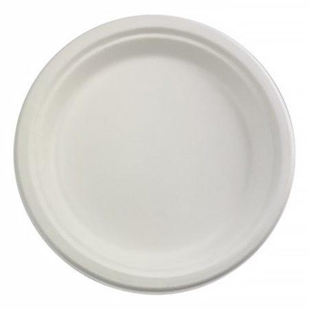 ÖKO sugorcane plate 22 cm (50 pcs/pck) (300 pcs/ctn)