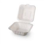 ÖKO CUKORNÁD  hamburger box   (152x150x78mm) 50db/cs, 3cs/#