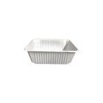 B-import műanyag szögletes alj 500 ml fehér PP [ 50 db/cs ] [  6  cs/# ] AKCIÓS