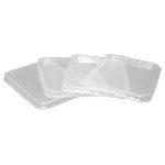 B-import műanyag szögletes tető VT PP [ 50 db/cs ] [  6  cs/# ]