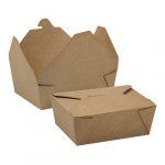 Food Box 1200 ml kraft 170x140x52 mm [ 50 db/cs ] [  6 cs/# ]