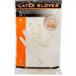 Gumikesztyű Handy latex púderes L [ 10 db/cs] [ 100 cs/# ] AKCIÓS