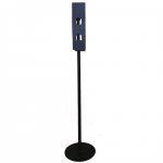 Adagoló állvány kézfertőtlenítőhöz fekete AKCIÓS